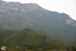Admire views to the mountain tops on your train journey from Sarajevo to Mostar