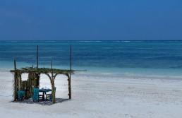 A paradise beach in Zanzibar Island, Tanzania