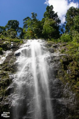Waterfall in Danum Valley, Malaysian Borneo