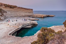 The famous St.Peter's Pool in Malta. Superb place for a swim.