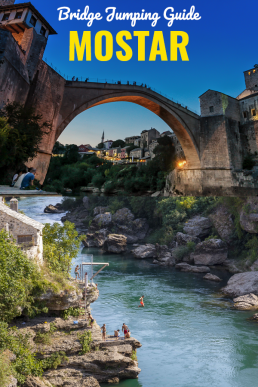 Everything you need to know before visiting Mostar's Old Bridge (Stari Most): the best things to do (including bridge jumping guide!), where to eat and what else to see in Mostar. #Mostar #BosniaandHerzegovina #Bosnia #Europe #thingstodo