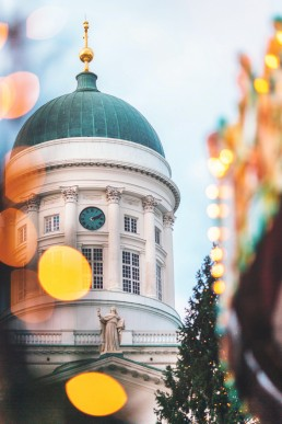 Helsinki Christmas Market showcases Finnish design and Christmas traditions. #Helsinki #ChristmasMarket #Finland #EuropeTravel Photographer: Jussi Hellsten